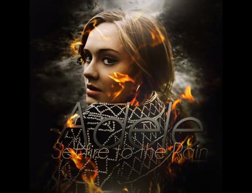 Adele: Set fire to the rain (Moto Blanco Instrumental Remix)