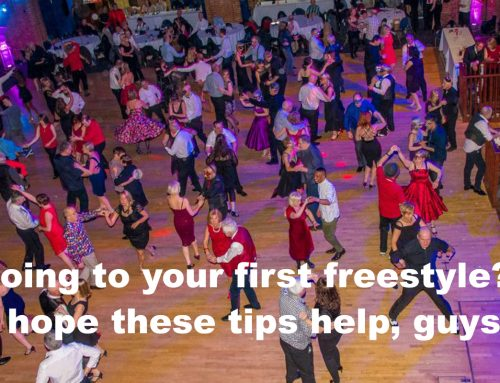 Modern Jive dance tips for Men – making the step up to Freestyles
