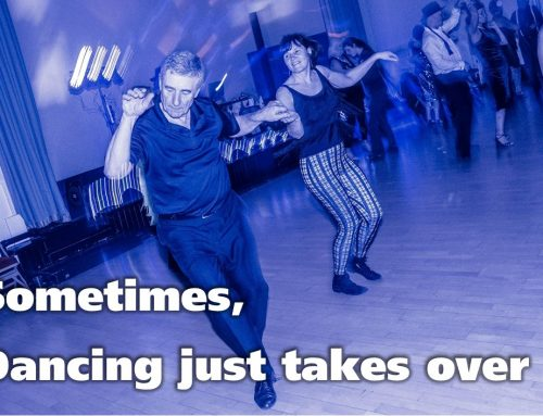 Sometimes, dancing just takes over – 8 days out of 8!