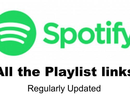 Spotify Playlist Links