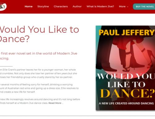 My Dance Novel – A New Website